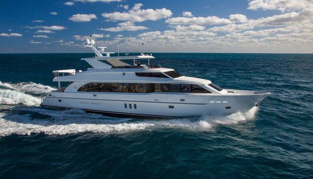 Cutting Edge Charter Yacht