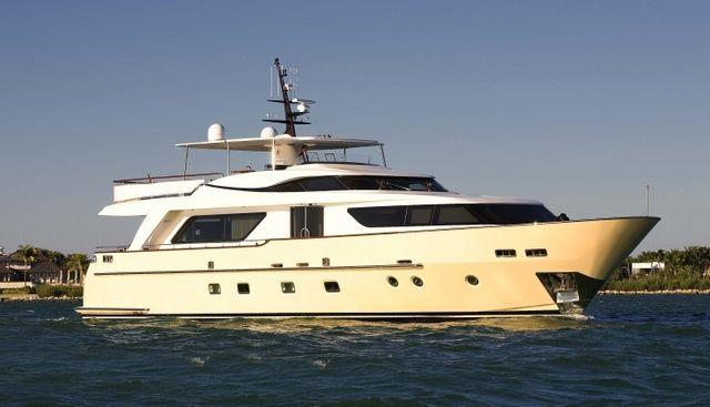 Retro Blue Charter Yacht - 2