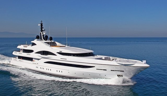 Quantum of Solace Charter Yacht