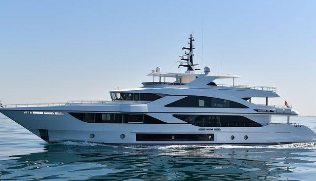 Majesty 140 / 3 Charter Yacht