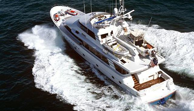 Life of Riley Charter Yacht