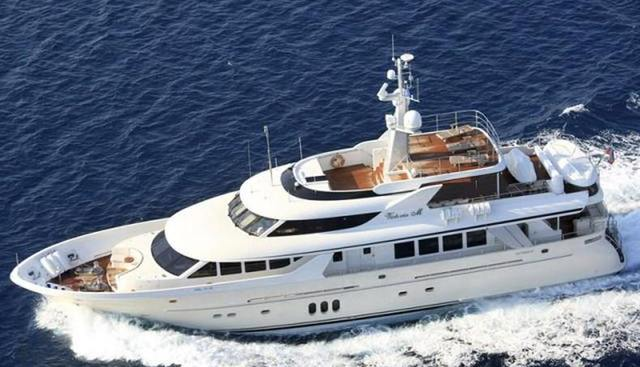 Milaya Charter Yacht