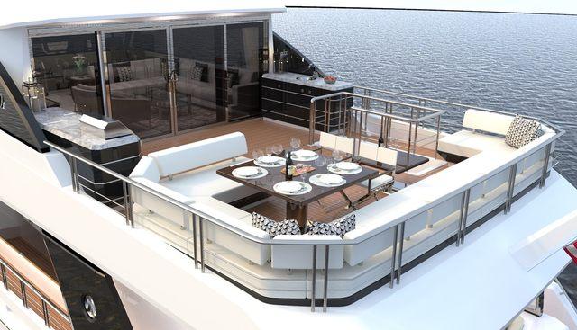 Ocean Alexander 84R/ 01 Charter Yacht - 3