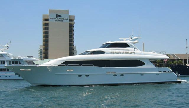 Crown Legacy Charter Yacht
