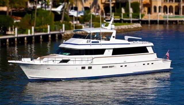 Sea Vista Charter Yacht
