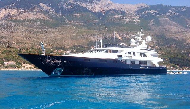 Alexandra Charter Yacht