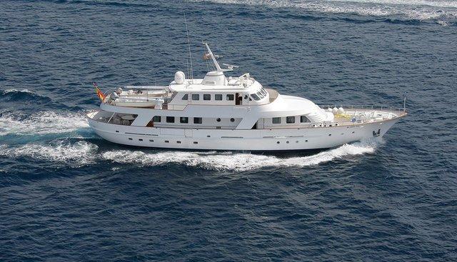 Danae Charter Yacht
