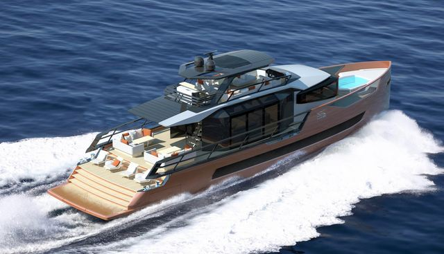 Magma Red Charter Yacht