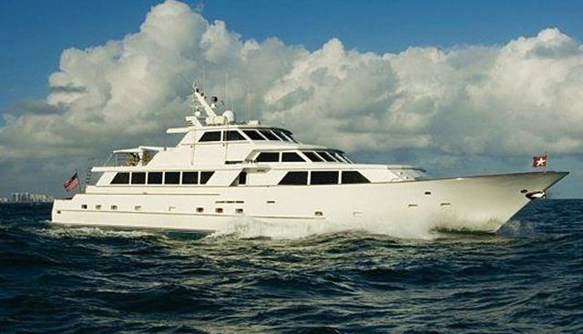 Shinyo Florentina Charter Yacht