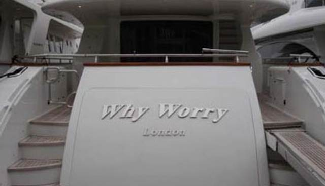 Why Worry Charter Yacht - 4