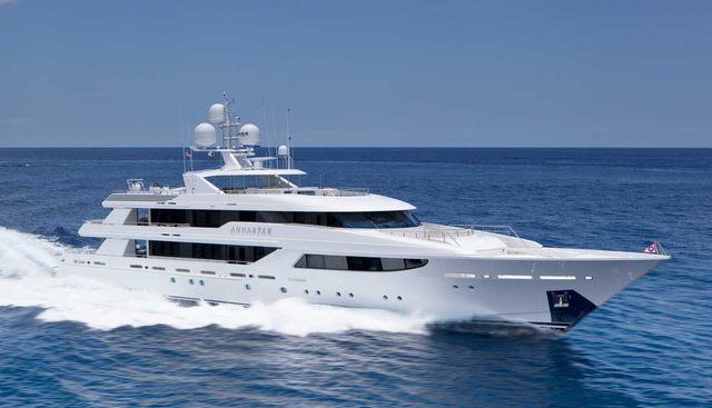 Annastar Charter Yacht
