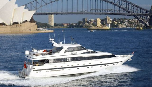 Hillsy Charter Yacht