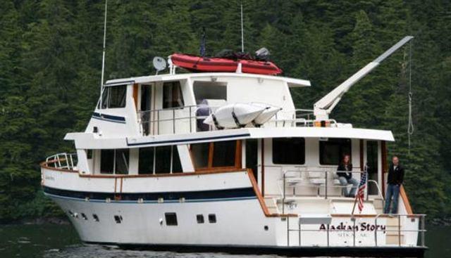 Alaskan Story Charter Yacht - 2