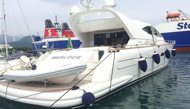 Warlock Charter Yacht
