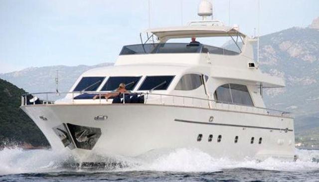 Pekatoo Charter Yacht