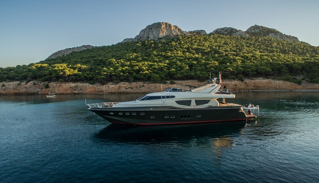 This is Mine Charter Yacht