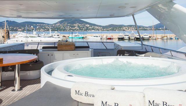 MAC BREW Yacht Charter Price - Heesen Luxury Yacht Charter