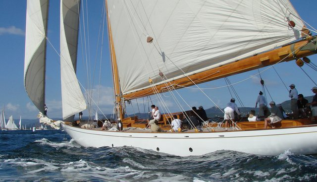 Cambria Charter Yacht