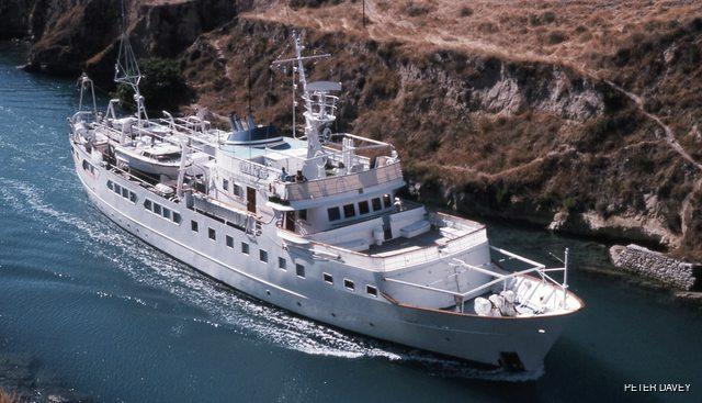 Ariane Ni Charter Yacht