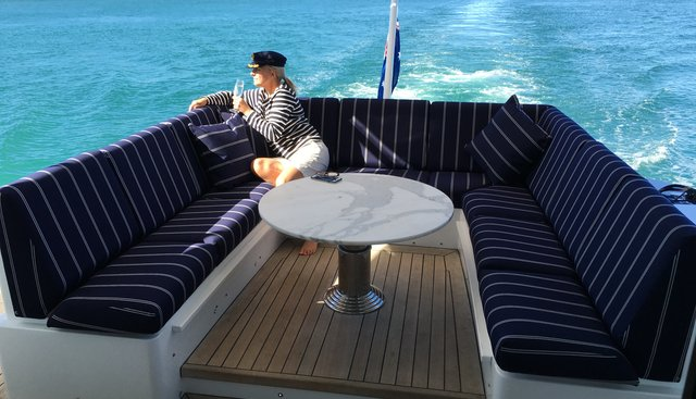 Crystal Blue Charter Yacht - 3