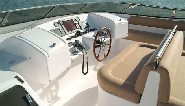 Majesty 88 Charter Yacht - 2