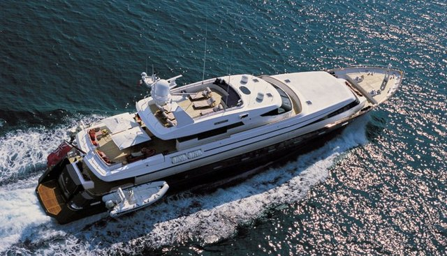 Astra Ultima Charter Yacht