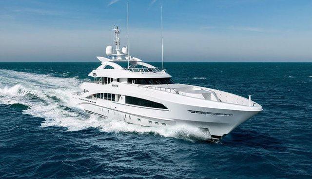 White Charter Yacht