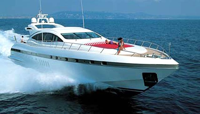 Number Five Charter Yacht