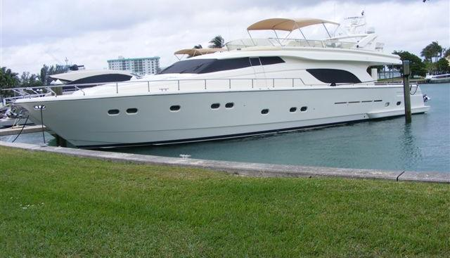 Ferretti 80 Charter Yacht