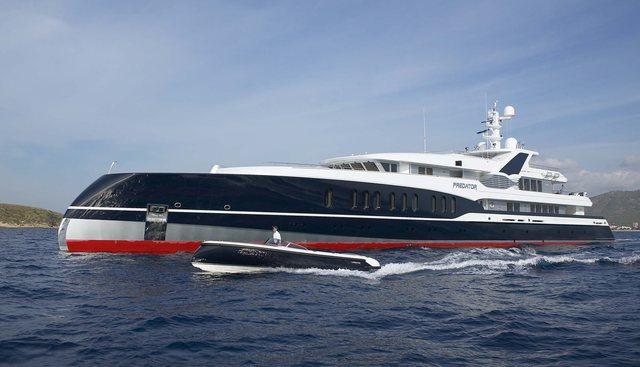 Predator Charter Yacht