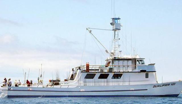 Qualifier 105 Charter Yacht
