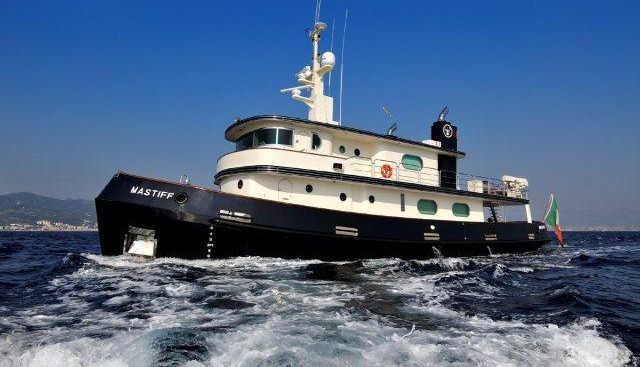 Mastiff Charter Yacht