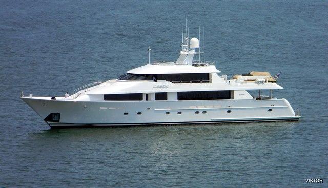 Tsalta Charter Yacht