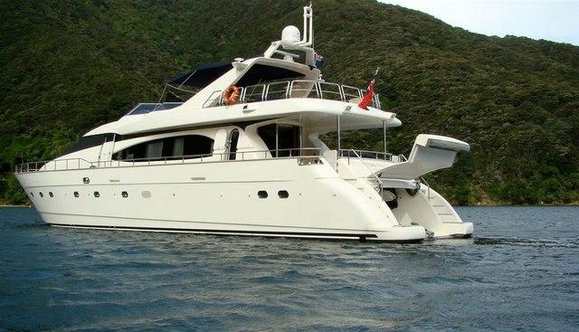 Verena V Charter Yacht