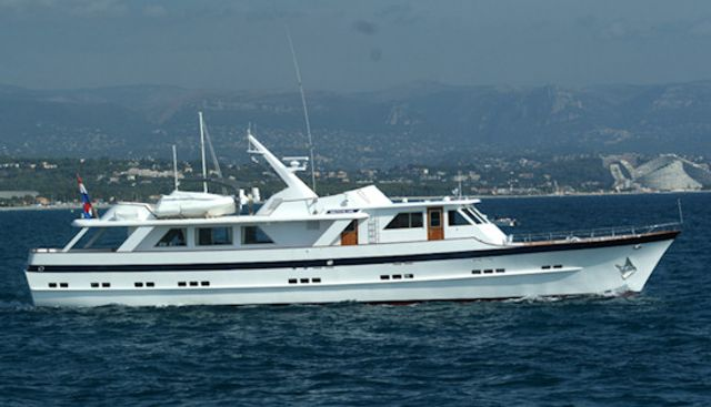 Something Cool Charter Yacht