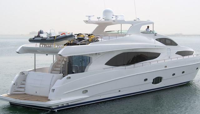 Majesty Yachts 101/05 Charter Yacht