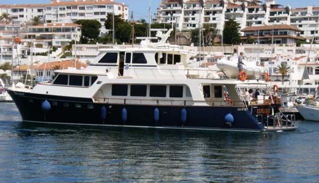 Explorer Seven Seas Charter Yacht
