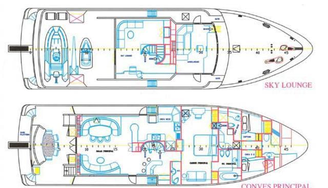 Fortaleza Charter Yacht - 8