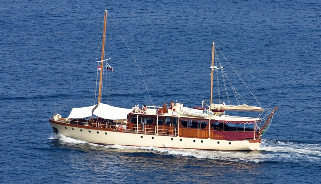Red Charter Yacht