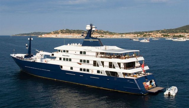 Force Blue Charter Yacht