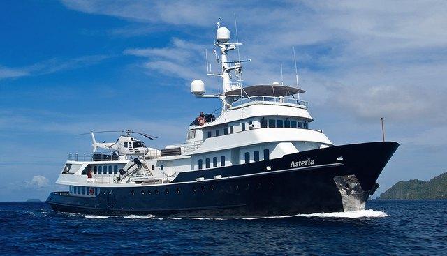 Asteria Charter Yacht
