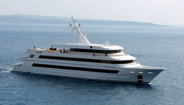 Caspian Star Charter Yacht