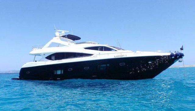 Luxor I Charter Yacht