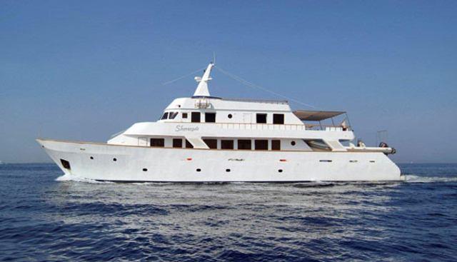 Sherazade Charter Yacht