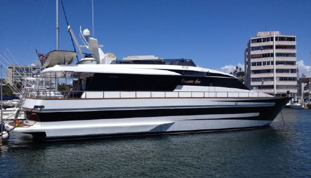 Cannon Ten Charter Yacht