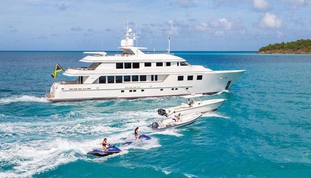 Pure Bliss Charter Yacht