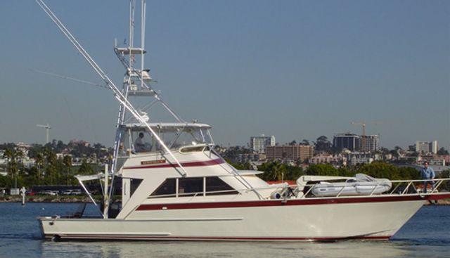 Osprey Charter Yacht