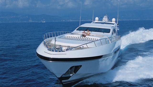 Mangusta 130/21 Charter Yacht - 3