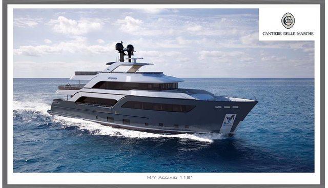 Acciaio 123 Charter Yacht
