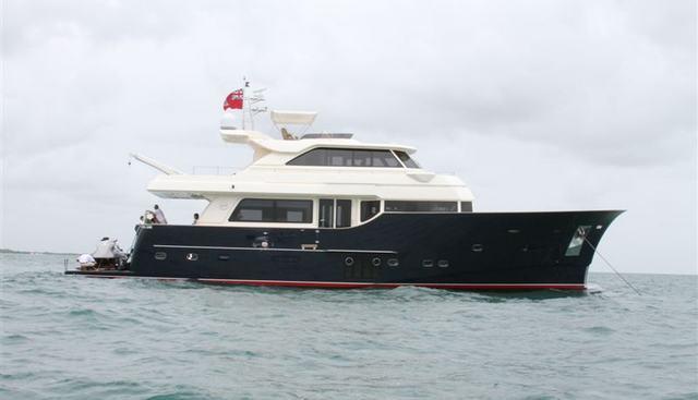 Mochi Craft 23m Hybrid Charter Yacht